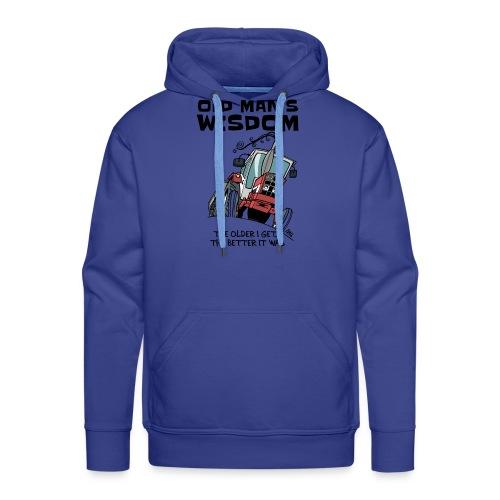 0499 oldmanswisdom IH553 - Mannen Premium hoodie