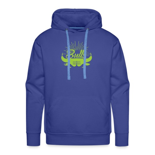 Toros verdes, Bulls BasketBall deporte - Sudadera con capucha premium para hombre