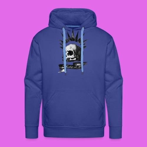 Skull - Sweat-shirt à capuche Premium pour hommes