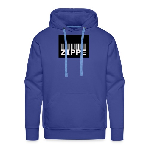 CODE BARRE ZIPPE - Sweat-shirt à capuche Premium pour hommes