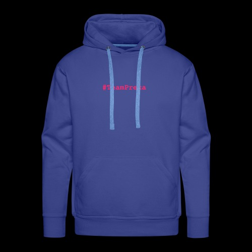 Pink #TeamPrexa LOGO - Männer Premium Hoodie