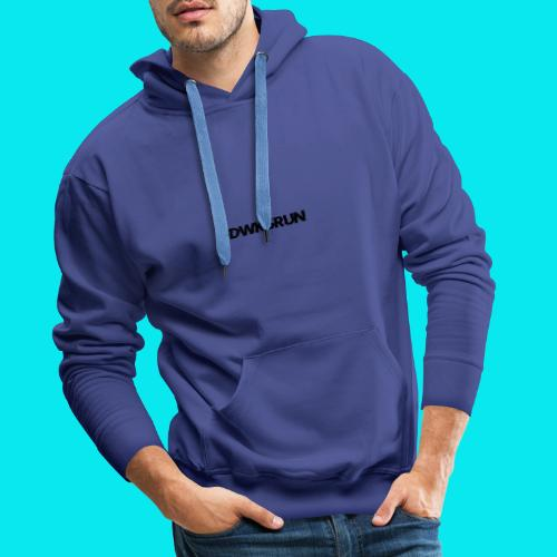 DWK3RUN Glitch Logo - Männer Premium Hoodie
