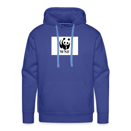 wnf logo panda - Mannen Premium hoodie