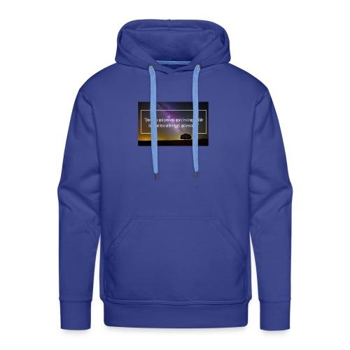 Que ceux qui pensent - Sweat-shirt à capuche Premium pour hommes