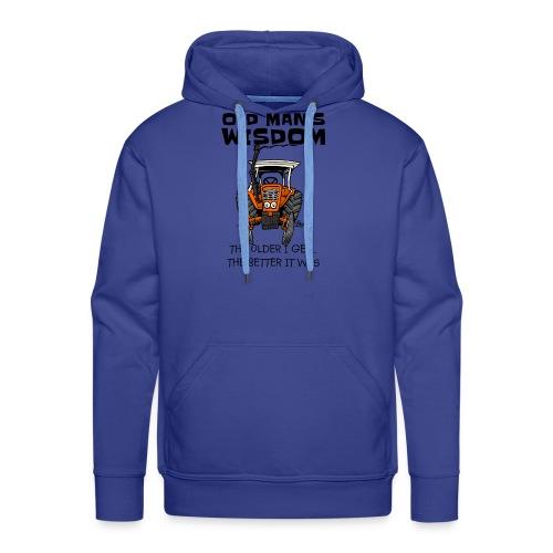 0093 oldmanswisdom belarus - Mannen Premium hoodie