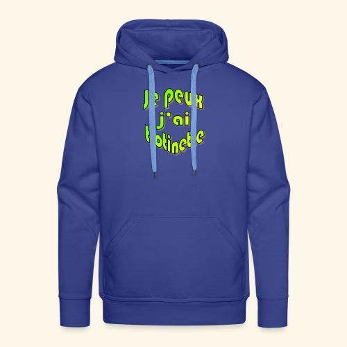 je peux pas j'ai trott - Sweat-shirt à capuche Premium pour hommes