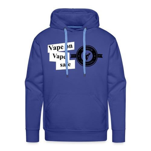 VapeOn Vape safe - Männer Premium Hoodie