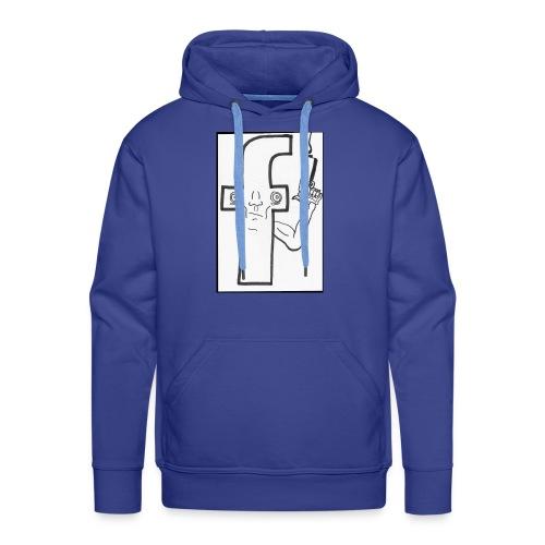 Monsieur Fessbouke - Sweat-shirt à capuche Premium pour hommes