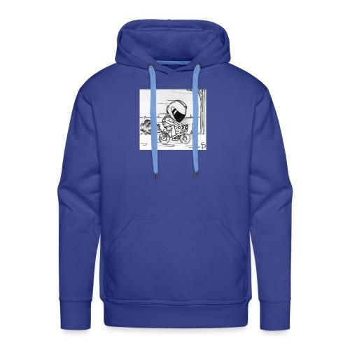 biker - Sweat-shirt à capuche Premium pour hommes