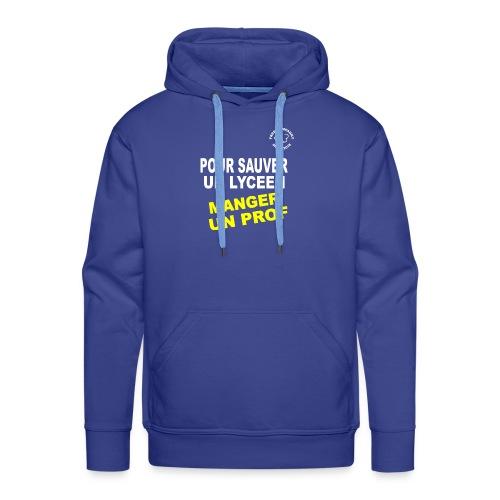 Save Lyceen - Sweat-shirt à capuche Premium pour hommes