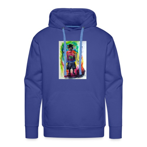 Fire Cat - Men's Premium Hoodie