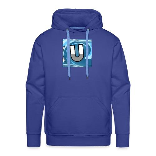 Ungeclasht TV Logo Design - Männer Premium Hoodie
