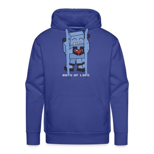 Bots of love grunge - Men's Premium Hoodie