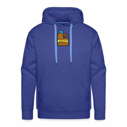 Chocolate Bleach Handrawn - Men's Premium Hoodie
