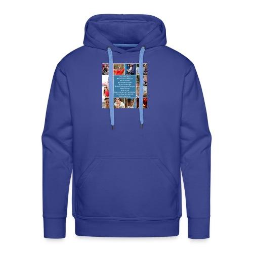 Motiv 4 Design Bild verändern siehe unten - Männer Premium Hoodie