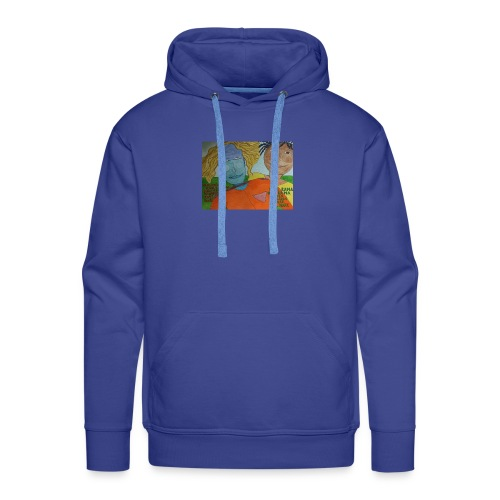 krishna red shirt - Men's Premium Hoodie