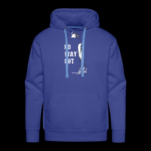 Four Letters Shirt No Way Out weiss - Männer Premium Hoodie