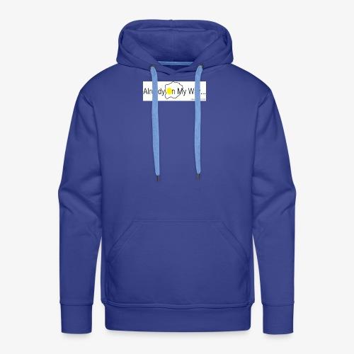 Already On My Way... - Mannen Premium hoodie