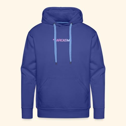 Sarcasm - Sweat-shirt à capuche Premium pour hommes