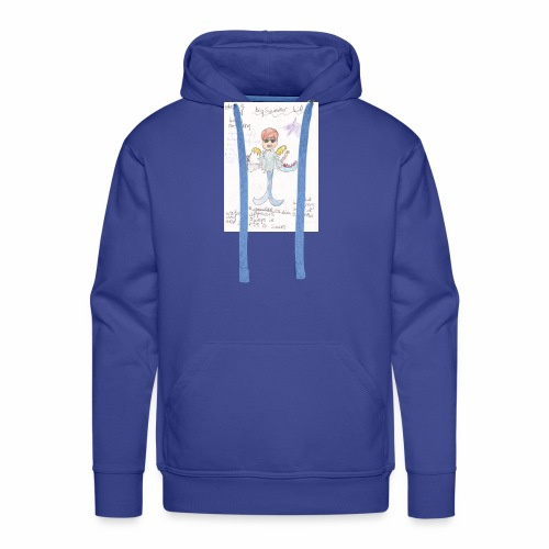 Big Swimmer Bill DHIRT - Men's Premium Hoodie