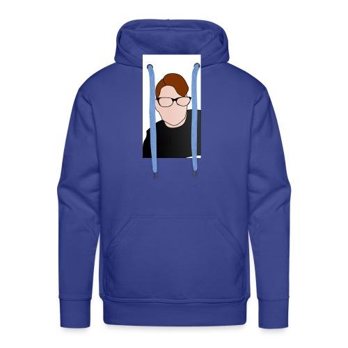 Yt logo - Mannen Premium hoodie