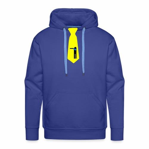 Dab Cravatta Gangsta Yellow - Felpa con cappuccio premium da uomo