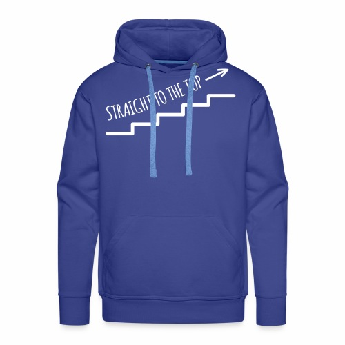 Straight to the top - Männer Premium Hoodie