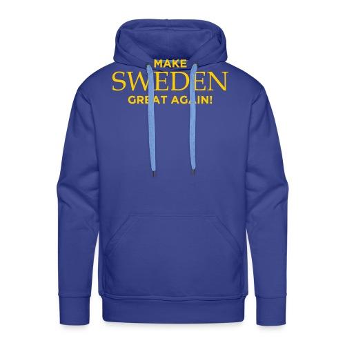 Make Sweden Great Again! - Premiumluvtröja herr