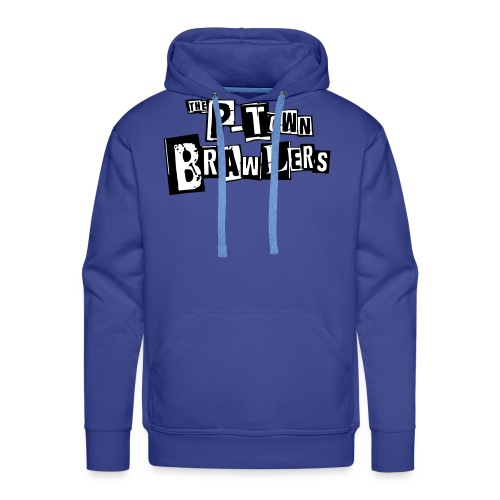 P-town Brawlers tekstilogo - Miesten premium-huppari