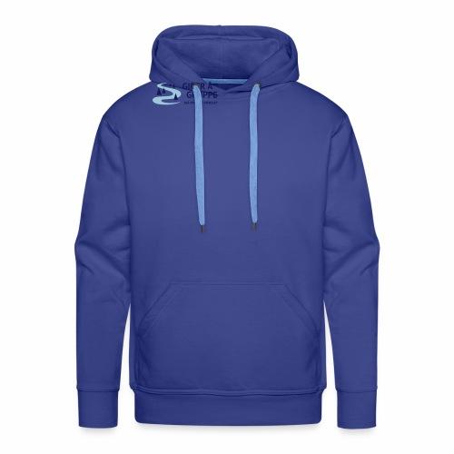 Lille logo forside - Herre Premium hættetrøje