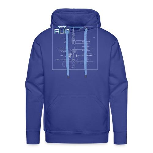 NeonRun - Mannen Premium hoodie