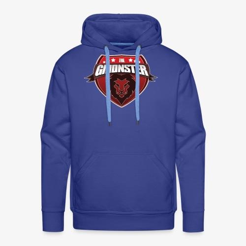 TheGMonster Logo Grand - Sweat-shirt à capuche Premium pour hommes