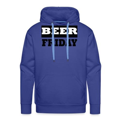 beerfriday - Sudadera con capucha premium para hombre