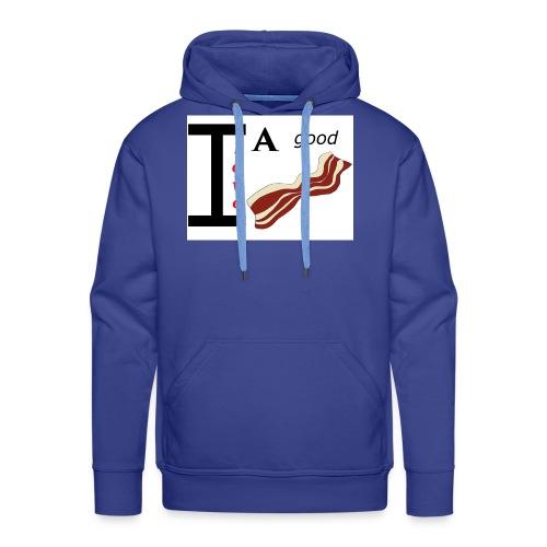 Nur für echte Baconliebhaber- I love a good Bacon! - Männer Premium Hoodie