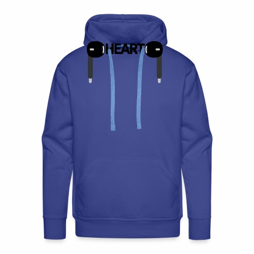 ListenToYourHeart - Bluza męska Premium z kapturem