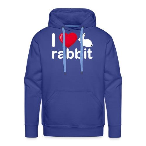Zu nett Kaninchen i lieben weißes Kaninchen - Männer Premium Hoodie
