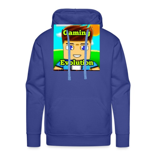 me while gaming - Men's Premium Hoodie