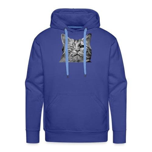 zwinkernde Katze - Männer Premium Hoodie
