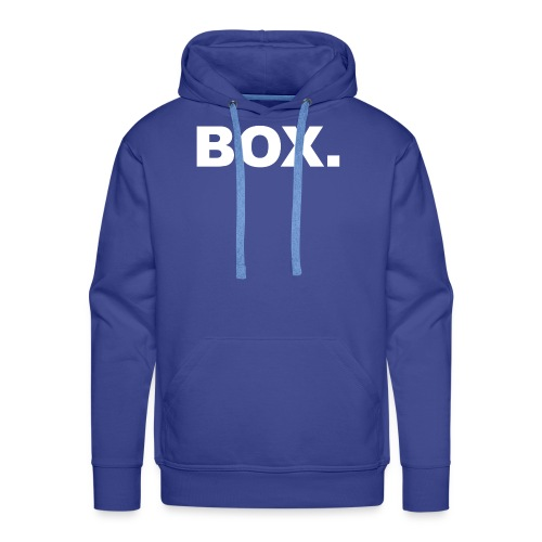 BOX. Clothing T-Shirt Men - Mannen Premium hoodie