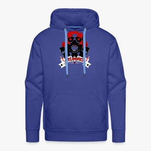 Skull Drummer black - Männer Premium Hoodie