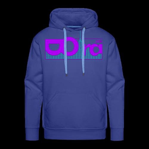 DORA Crew Logo Delic II - Felpa con cappuccio premium da uomo
