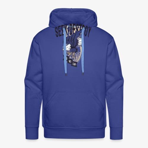 Seek Destroy - Shirts - Felpa con cappuccio premium da uomo