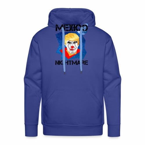 Mexico Nightmare Blue / L'incubo blu del Messico - Felpa con cappuccio premium da uomo