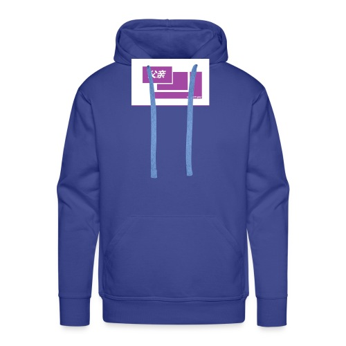 thoughtful mom gay design box logo - Miesten premium-huppari