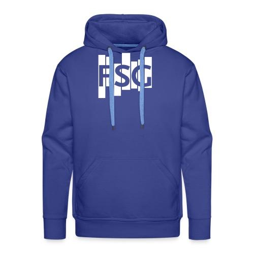 FSG Logo weiß - Männer Premium Hoodie
