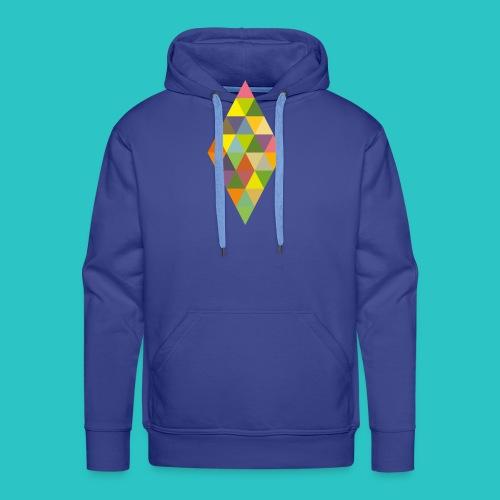 Rhombus - Männer Premium Hoodie