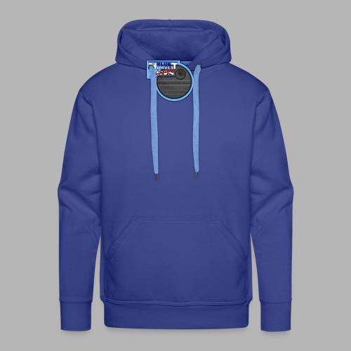 Blue Harvest Moon - Design - Männer Premium Hoodie