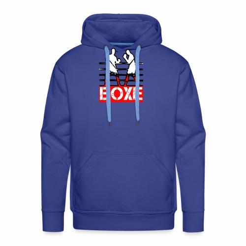 BOXE - Felpa con cappuccio premium da uomo