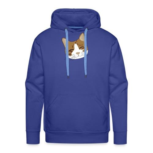 Süßes Schnurr Miau Kätzchen Katze - Männer Premium Hoodie