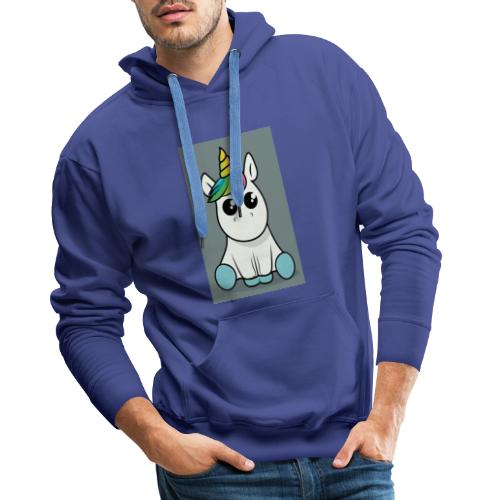 baby unicorn boy - Men's Premium Hoodie
